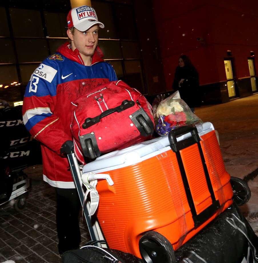 Александр Полунин хоккей