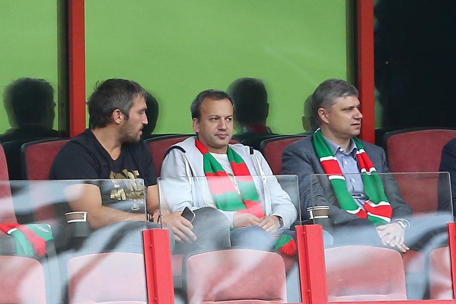 Аркадий Дворкович Локомотив