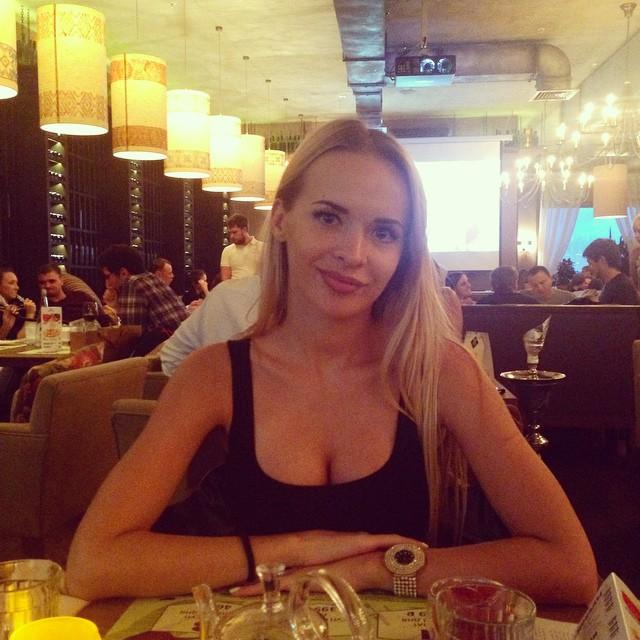 девушка Дениса Терентьева