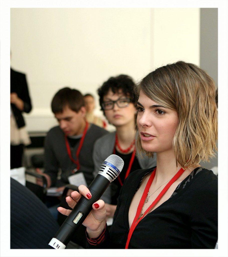 Софья Тартакова в молодости