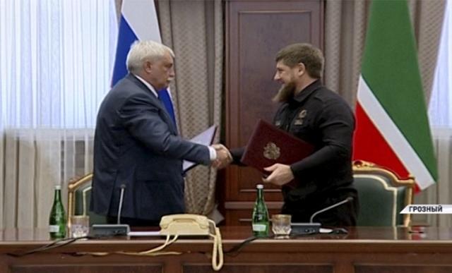 Георгий Полтавченко Ахмат сила