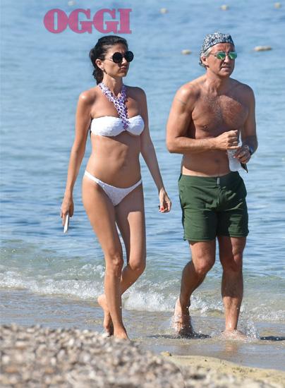 Роберто Манчини с кем встречается