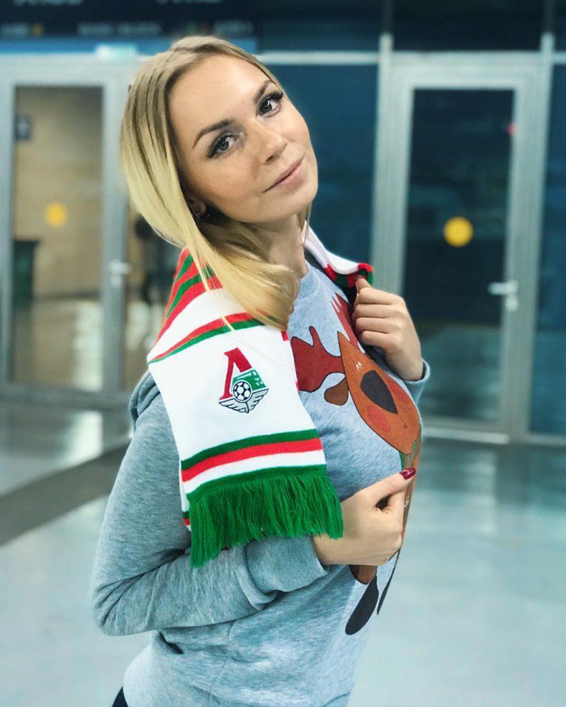 болельщица Локомотива