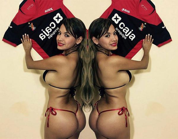 Футбольная фанатка Перу