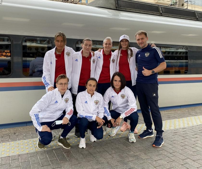 Женская сборная России по пляжному футболу