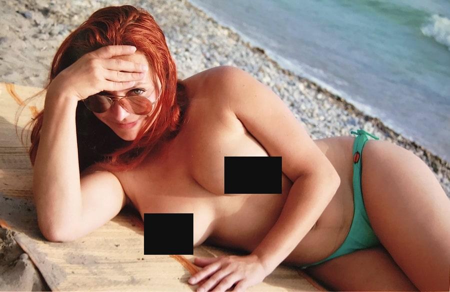 Марина Анисина топлес
